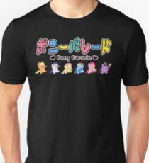Pony Parade - Logo and Mane 6 T-Shirt