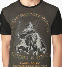 URGERMANISCH HONIG UND MET personalisiert Grafik T-Shirt