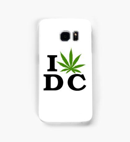 I Love Washington D.C. Marijuana Cannabis Weed  Samsung Galaxy Case/Skin