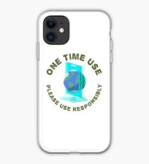 One Time Use iPhone Case