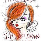 Jessica Rabbit Draw by NanaNera