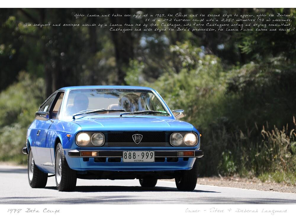 Lancia Beta Coupe by Studio-Z Photography