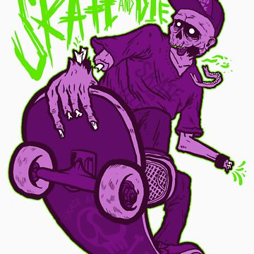skate and die purple by fo3the13th