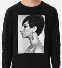 sayur kangkung barbra streisand hitam #9056334345#!!4566 Lightweight Sweatshirt
