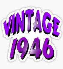 Vintage 1946 Sticker