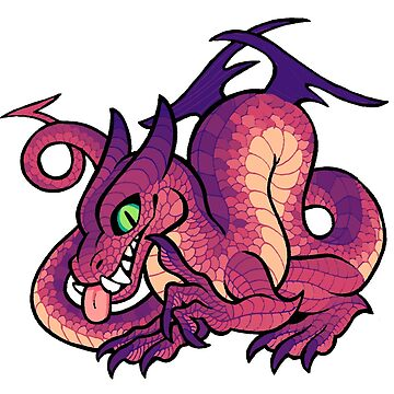 Purple Dragon by etall
