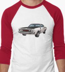 Chrysler Valiant VH Charger - White Men's Baseball ¾ T-Shirt