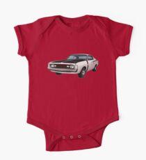 Chrysler Valiant VH Charger - White One Piece - Short Sleeve