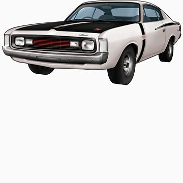 Chrysler Valiant VH Charger - White by tshirtgarage
