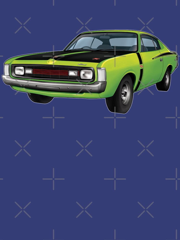Chrysler Valiant VH Charger - Green Go by tshirtgarage