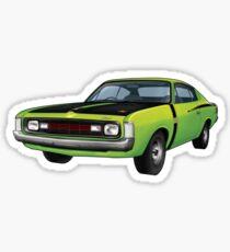 Chrysler Valiant VH Charger - Green Go Sticker