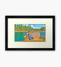 Prescott Arizona Goldwater Lake Framed Print