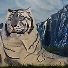 White Tiger Down By The River by towncrier