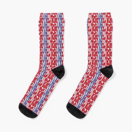 #OurPatriotism: UnbOthered (Red, White, Blue) by Onjena Yo Socks