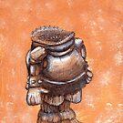 Sock Gobbler Goblin by Cantus