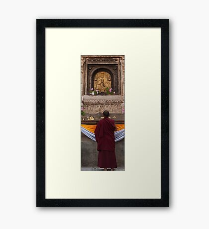 Oh... Lord Give The Peace To The World!!!! Framed Print