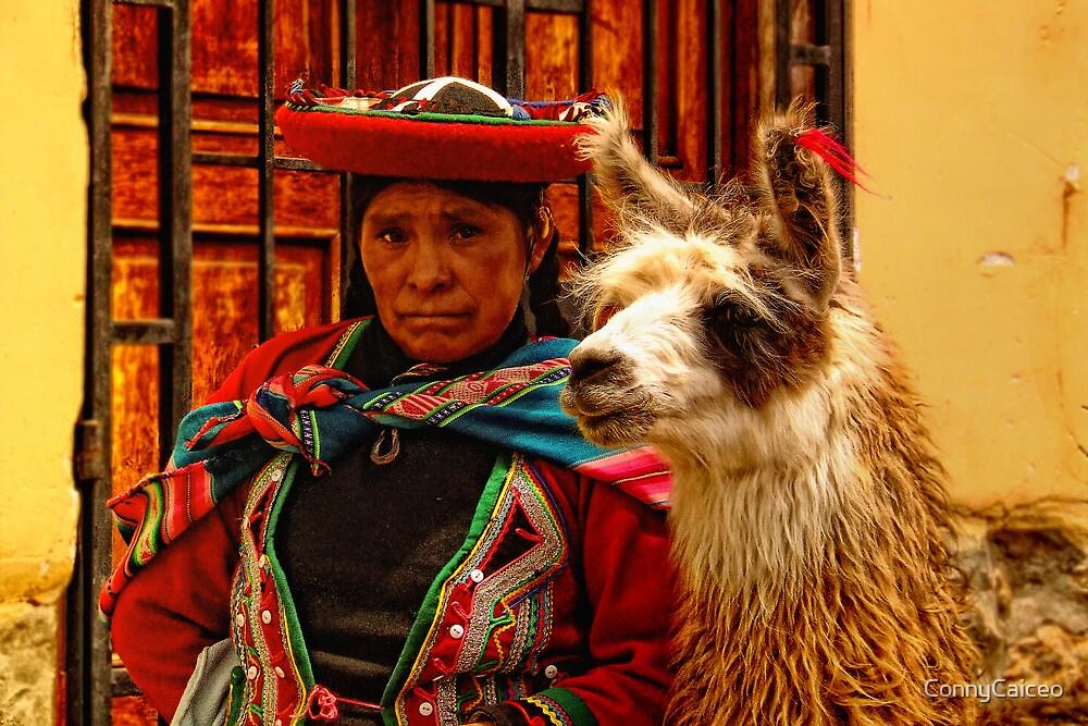 Peruvian women's expression by Constanza Barnier