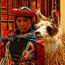Peruvian women's expression by Constanza Caiceo