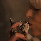 """ Kitten Kiss "" by CanyonWind"