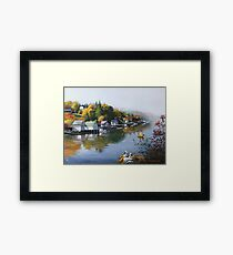Hackett's Cove Nova Scotia Framed Print