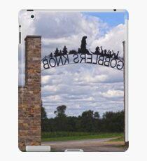 Gateway to Groundhog land iPad Case/Skin