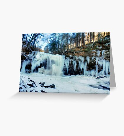 Harrison Wright on the Rocks Greeting Card