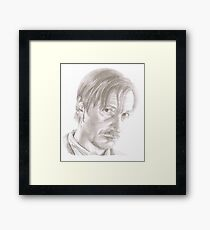 David Thewlis as Remus Lupin Framed Print