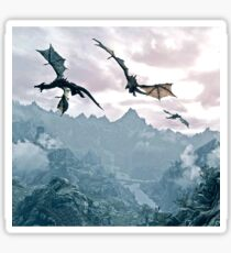 Flying dragon Sticker