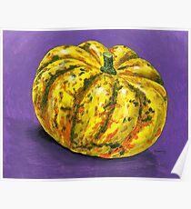 Complementary Carnival Squash Poster