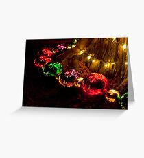 Reflected Decorations Greeting Card