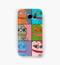 Rare Pop Art Marilyn Monroe Pepe the Frog Samsung Galaxy Case/Skin