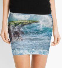 Exploding Surf Mini Skirt