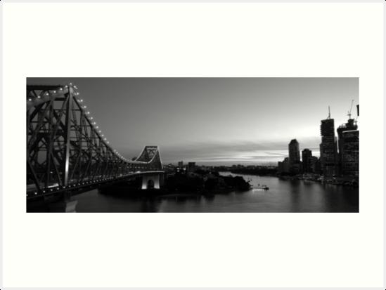Brisbane story bridge by jillian bell