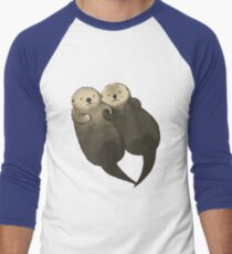 Significant Otters - Otters Holding Hands T-Shirt