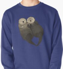 Significant Otters - Otters Holding Hands Pullover