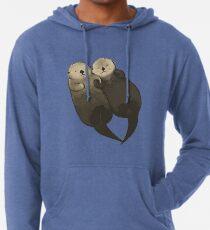 Bedeutende Otter - Otter, die Hände halten Leichter Hoodie