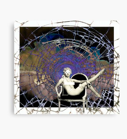Woven... Canvas Print