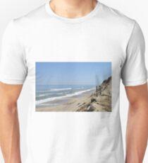 Ocean bluff and beach T-Shirt