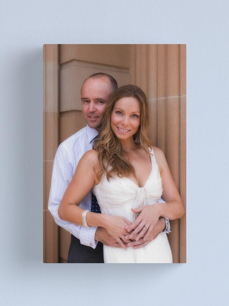 Alternate view of Wedding Portfolio Canvas Print