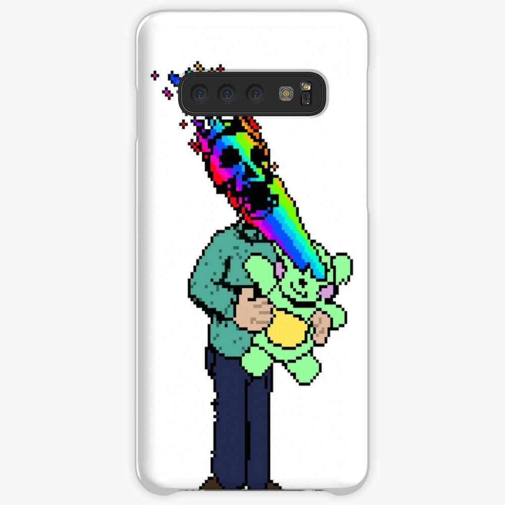 Pixel Death 1 - Teddy Rainbow Blast Case & Skin for Samsung Galaxy