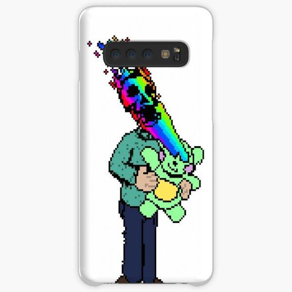 Pixel Death 1 - Teddy Rainbow Blast Samsung Galaxy Snap Case