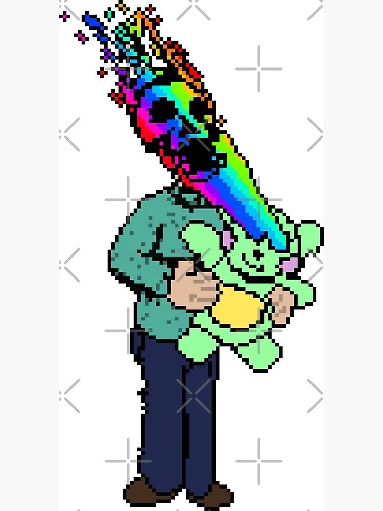 Pixel Death 1 - Teddy Rainbow Blast by Bastianelli