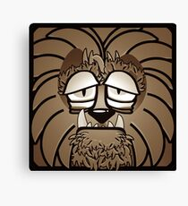 Werewolf - Sepia Canvas Print