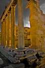 East Side of the Erechtheum, Greece by photosbyflood