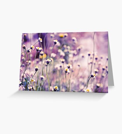 SOLD; Purple field: Explore; Got 7 Featured Work, One Explore Featured Greeting Card