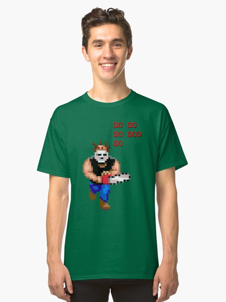Alternate view of Chainsaw Maniac - DO DO DO DOO DO Classic T-Shirt