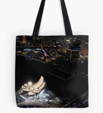 Construction of Art Science Museum   Tote Bag