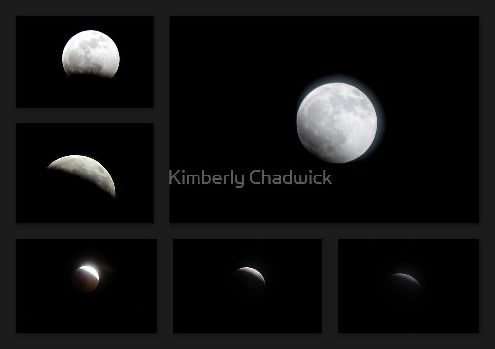 Winter Solstice Lunar Eclipse ~ 2010 by Kimberly Chadwick