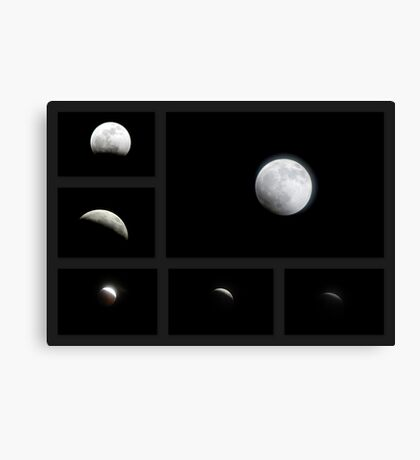 Winter Solstice Lunar Eclipse ~ 2010 Canvas Print