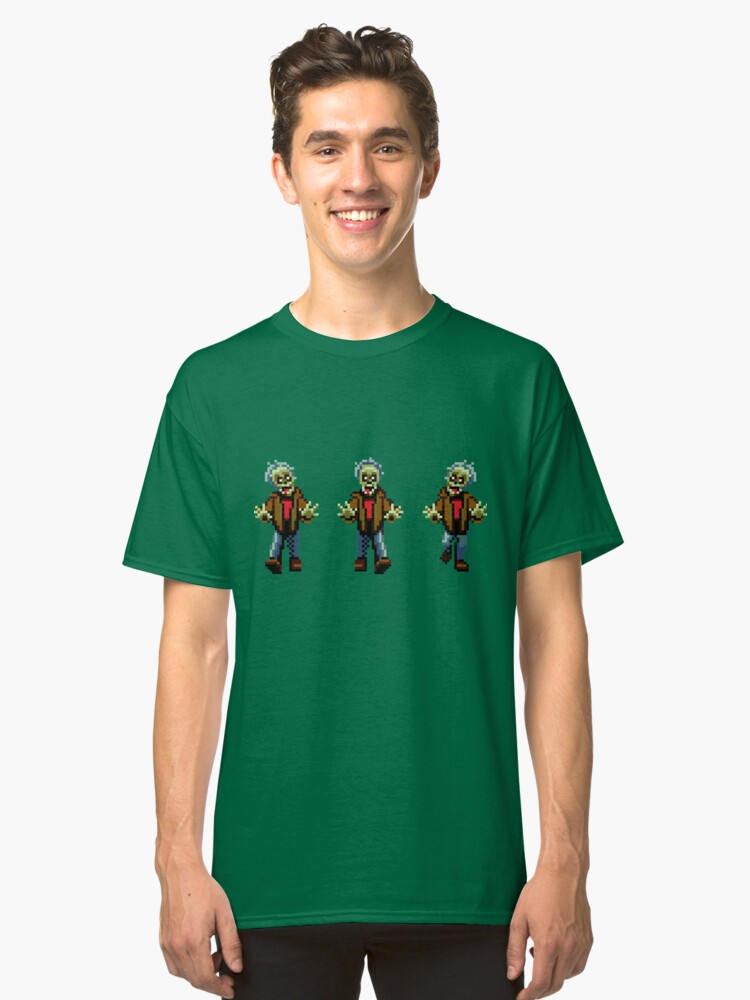 Alternate view of Zombies! Classic T-Shirt